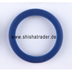 Crystal Silikon Schutzring blau