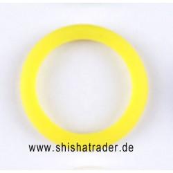 Crystal Silikon Schutzring gelb