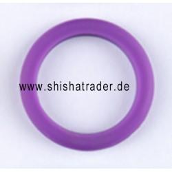 Crystal Silikon Schutzring violett