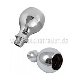 Kaya PNX Sphere Base-Adapter für Glasrauchsäulen Chrom
