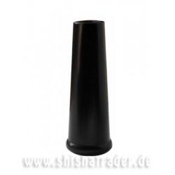 Kaya Kopfadapter für Brass Click- und INOX- Schaft schwarz