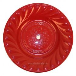 Caesar Shisha-Kohleteller Ø 39cm Rot