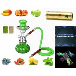 Shisha Pumkin Set grün