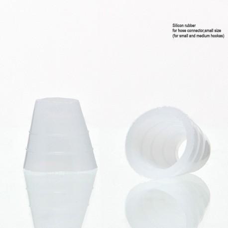 Schlauchdichtung Silikon weiß geriffelt small