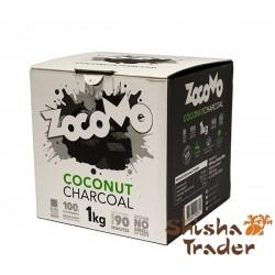 ZocoMo Premium Kokos Naturkohle 1Kg