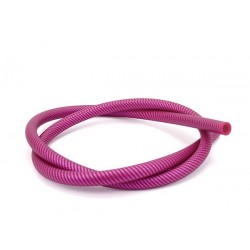 AL-MANI Silikonschlauch Carbon pink