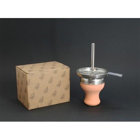 AL-MANI Shisha Terracotta Kaminkopf - Set