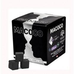 MACOCO Charcoal Kokos Shishakohle 64 Cubes 26x26x26mm 1Kg