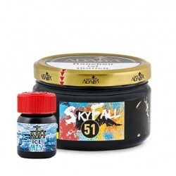 Adalya 51 Skyfall 200g inkl. 25ml ATH ICE-Mix Shot