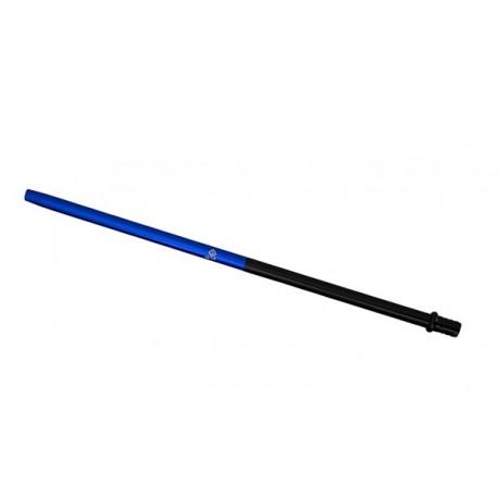 AL-MANI Shisha Alu-Slim Mundstück 50-50 Black-Blue L 40cm