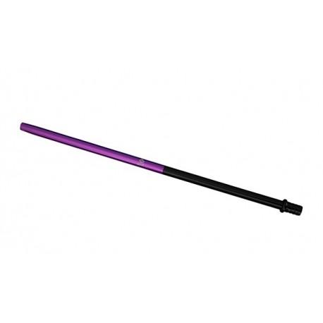 AL-MANI Shisha Alu-Slim Mundstück 50-50 Black-Purple L 40cm